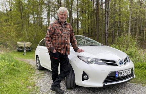 Jim Güttrup:  Da han fikk bilen tilbake var den full av skader.
