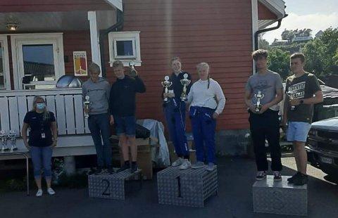 TRK godt representert med Oline Nordli og Andrine Hirschel-Haag på første plass, og Thomas Braathen og Trond Skaaland på tredje.