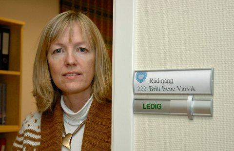 Britt Iren Vårvik ønsker en litt mindre krevende hverdag, og blir nå avdelingsleder i NAV. Foto:Arkiv