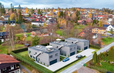 HUSEBY: – Her kommer det tre prosjekterte eneboliger i veletablert og populært boligområde, står det i annonsen.