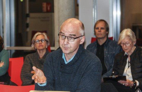 Øyvind Solum i MDG på Nesodden.