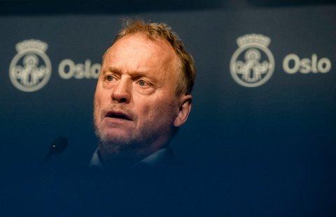 – MÅ FORBYD: Byrådsleder Raymond Johansen (Ap) tar til orde for å forby utenlandsreiser.