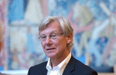 HELSEPOLITIKER FOR HØYRE:  James Stove Lorentzen sitter i bystyret for Oslo Høyre og er helsepolitiker for partiet.  Foto: Terje Pedersen / NTB