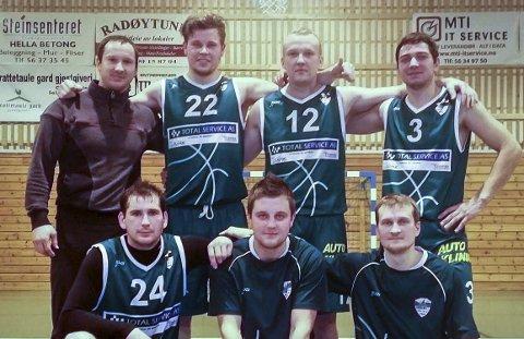 LITAUEN: Alle spelarane på laget er frå Litauen.