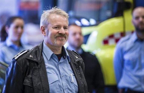 RETT TIL Å HJELPA: – Med denne beredskapen kan vi gripa inn tidlegare enn før, seier Nils Medaas i Lindås og Meland brann og redning.