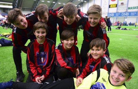 Drag-guttene har som tradisjon å delta på cup i Bodø.