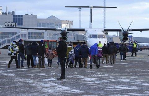 1. februar: Fra Bodøsjøen og Glomfjord ble asylsøkere sendt til Kirkenes tre måneder etter at de kom til Norge. Nå venter asylintervju. Onsdag er det asylsøkerne i akuttmottaket i Saltstraumen sin tur til å bli sendt til Kirkenes.