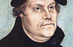 500 år: Tirsdag er det 500 år siden Martin Luther offentliggjorde 95 teser som for alltid endret kristenheten. Faksimile: Maleri av Lucas Cranach d.e.