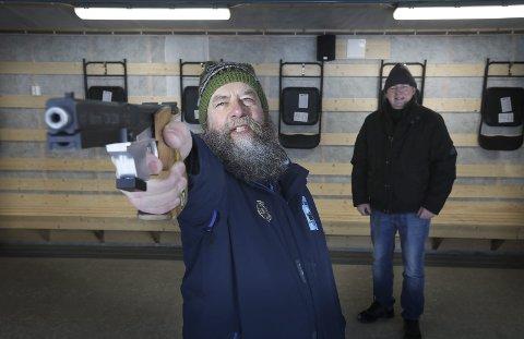 Klare: Både Holger Vilter og Bjørn Aage Orø er klare for NM.Foto: Tom Melby