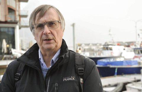 Varsler: Steinar Sæterdal har varslet mot fylkes-rådsleder Tomas Norvoll. Foto: Knut Johansen