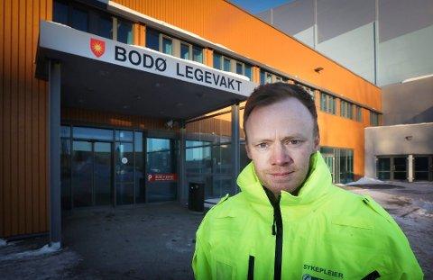 Jørgen Bjørnstad er legevaktsjef i Bodø.