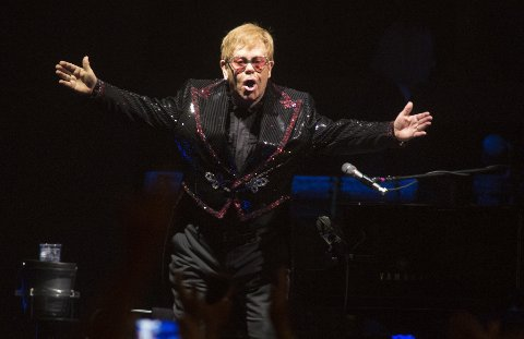 Elton John i PPL Center i Allentown i Pennsylvania i september i år.