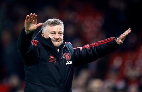 Manchester United-vikarmanager Ole Gunnar Solskjær er opptatt av at laget hans skal gå hardt ut fra start. (Martin Rickett/PA via AP)
