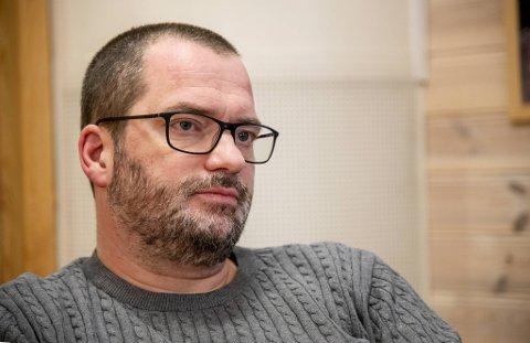 Rektor ved Slettebakken skole, Torgeir Skjælaaen, er bekymret.