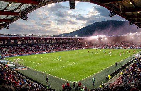 Her skal Sandviken spille mot Rosenborg 5. eller 6. juni.