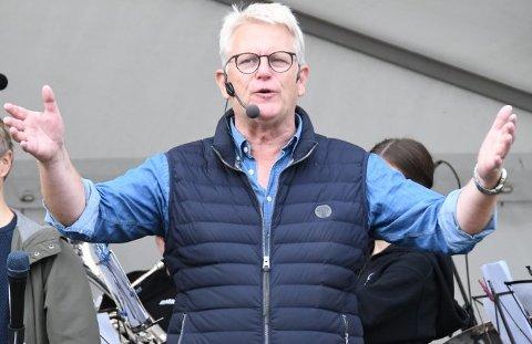 Handelsvekst: Daglig leder i Sentrum 21, Svein Sørnes, gleder seg over sterk vekst for senteret i 2019.