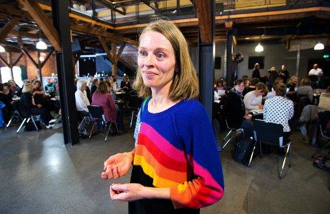 SKRIVER OM BIBLIOTEKEN OG VALGET 2017: Camilla Sørbye fra Drammen er leder i Norsk Bibliotekforening, avdeling Buskerud.