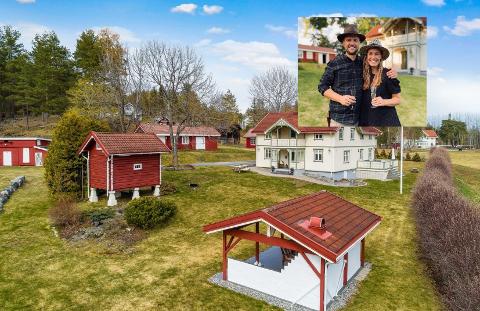 SMÅBRUK: Julie og Morten selger huset på Ormåsen til fordel for et småbruk på Darbu.