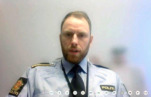 Rune Fossum er politikontakt i Enebakk.