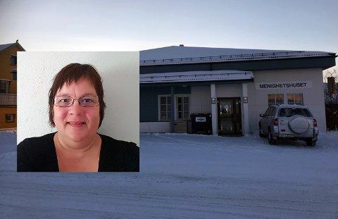 Mariann Pedersen Bårdsnes oppfordrer flere til å bidra til Nordkapp Menighets prosjekt. - Vi ønsker å bidra til at flere får en bedre jul, sier hun.