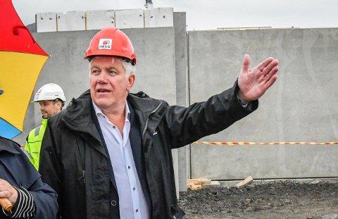 Ruben Jensen i NESO (Nordnorske Entreprenørers Serviceorganisasjon).
