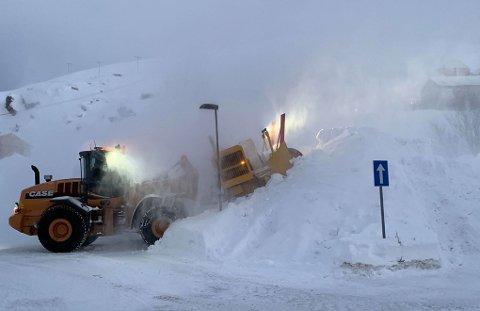Det ser ut til å bli vindfullt de neste dagene i Nordkapp og på Nordkyn.