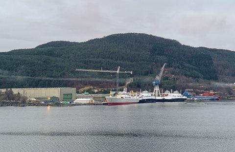 HAR TAPT: Blant verfta som i dag står med ingen eller negativ eigenkapital er Kleven Verft, Havyard Ship Technology og Vard Group.