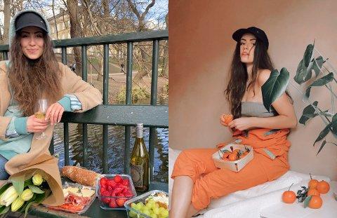 """NY LÅT: Artisten Vilde Torheim Skjerdal frå Aurland har gitt ut ei ny låt under namnet """"The Orange Girl"""""""