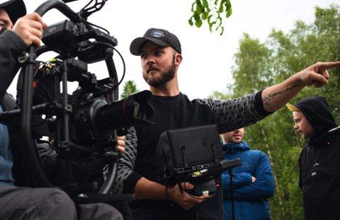 NY JOBB: Ian Aannevik har nyleg starta i Photoevent i Førde.