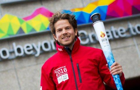 GLEDER SEG: Karl Filip R. Singdahlsen fra Fredrikstad skal jobbe tett opp mot ungdoms-OL på Lillehammer de neste månedene.