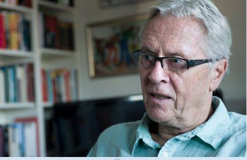 Fredsskaper: Petter Skauens tanker om fred kan du høre på Litteraturhuset 23. november.