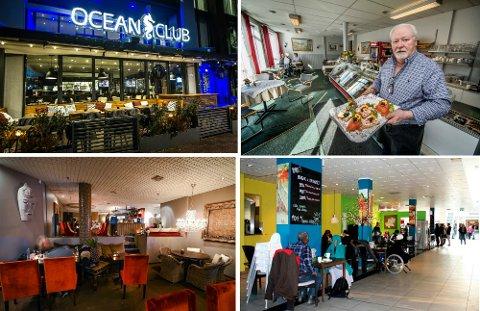 SMIL! Ocean Club, Thai Market, Café Planken og Hefels Konditori og Kafé er blant de seks som endte med smilefjes etter Mattilsynets siste besøksrunde.