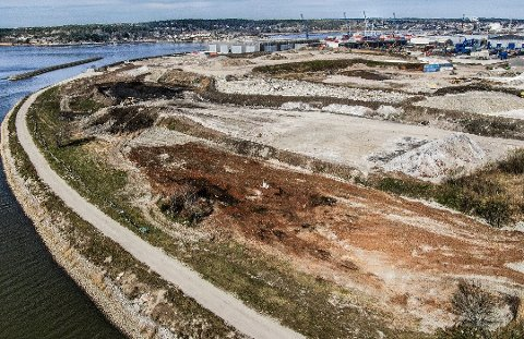 DEPONI: Dette området ønsker gruppen å innlemme i naturreservatet. Det er her de midlertidige dammene skal etableres.