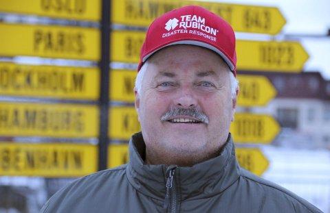 NARVIK-MANN: John Petter Bachke, opprinnelig fra Trondheim, kom hjem fra Texas med ryggsekken full av opplevelser.