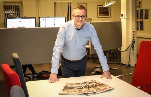 Christian Senning Andersen, sjefsredaktør i Fremover.