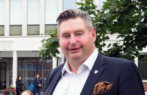 HYLLER FINN-MAGNE: Ordfører i Narvik, Rune Edvardsen. Arkivfoto.