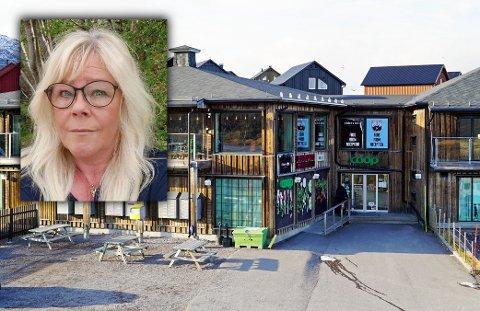 BUTIKKSJEF: Heidi Tapio er butikksjef på Coop Katterjåkk.