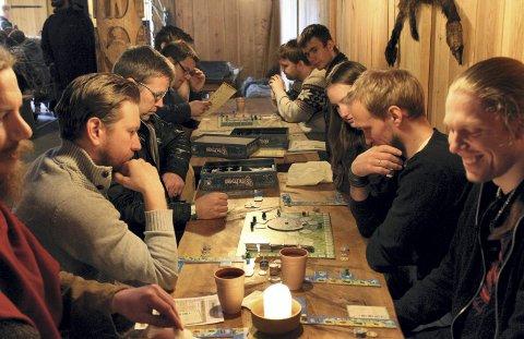 Brettspillfest: Midgard inviterer til en ny spillhelg med brett- og rollespill - og mye annet.pressefoto/midgard historisk senter