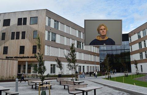 IKKE SKREMT: Elevrådsleder Truls August Råen lar seg ikke skremme av truslene, men forstår at enkelte andre elever opplever det annerledes.