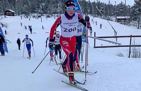 Elisa Vestvik Edland i fint driv i sesongåpningen.