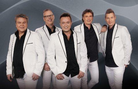 Streaplers består nå av (f.v.) Per Lundin, Kjetil Granli, Anders Larsson, Kenny Samuelsson og Henrik Göransson.