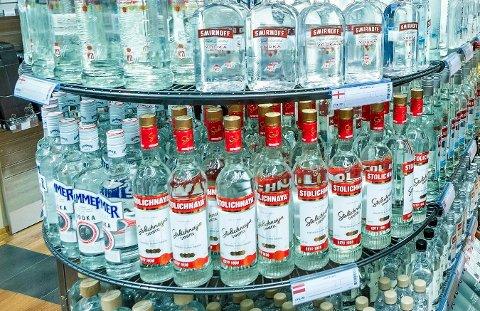 ADVARSEL: Flaskene du kjøper på Vinmonopolet kan bli merket med en advarsel om KrF får gjennomslag.