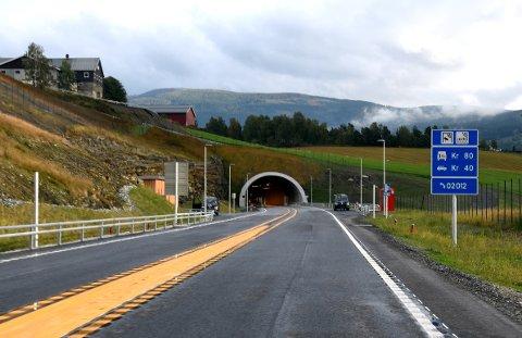 TUNNELER: Bildet viser Hundorptunnelen. Nå kan bli nye tunneler som bidrag til komplett, ny E6 i Gudbandsdalen