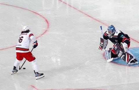 Det er for tiden en kald krig mellom NHL, Det internasjonale ishockeyforbundet (IIHF) og Den olympiske komité (IOC) Foto: Terje Bendiksby / NTB scanpix