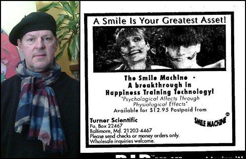 Dick Turner fra Baltimore hevder han var den som fant på smilebøylen.