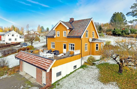 Hennungvegen 13: Ble solgt for 3.500.000 kroner.