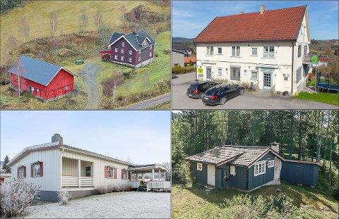Dette er noen av eiendommene som ble solgt i løpet av januar.