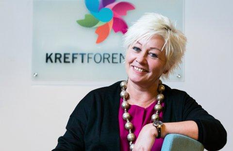 DYRERE RØYK: Generalsekretær i Kreftforeningen Anne Lise Ryel ber om høyere pris på røyk.