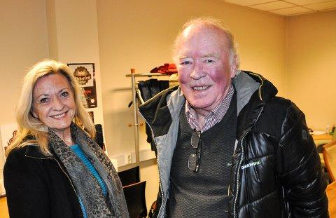 GIR SEG: Britt Viberg og Ole Vidar gir seg etter nesten seks år i Brandbu & Omegn Handel og Næring.