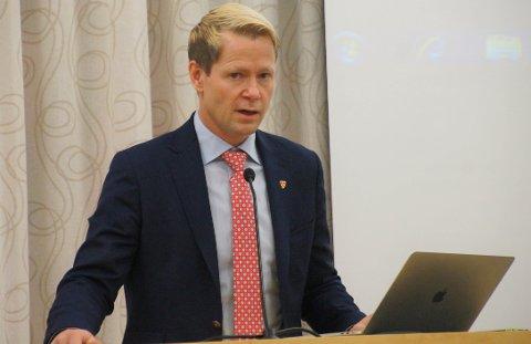 MANER TIL SOLIDARITET: - Vis solidaritet og følg rådene som myndighetene gir, oppfordrer Harald Tyrdal.